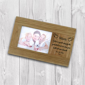 Family Member Solid Oak Frame