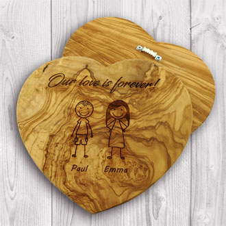 Heart Plaque / Serving Board